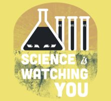 Science is Watching You Kids Tee