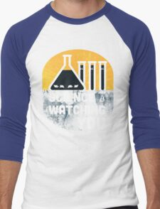 Science is Watching You Men's Baseball ¾ T-Shirt