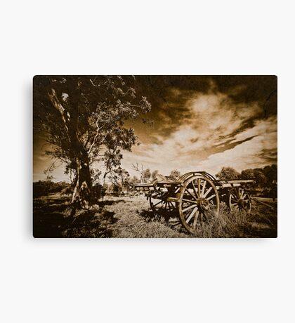 Bye-Gone Canvas Print