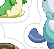 Pokemon Starters - Gen 5 Sticker