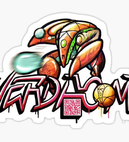 VERDACOMB Orb Suit Sticker Sticker