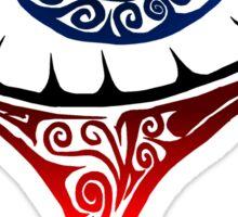 Blue Tribal Tearing Eye  Sticker