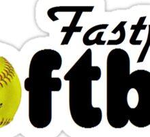 Fastpitch Softball Sticker