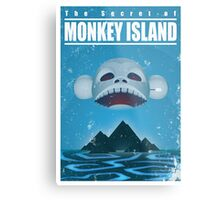 Monkey Island Travel Poster Metal Print