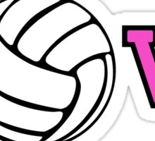 Volleyball Love Sticker