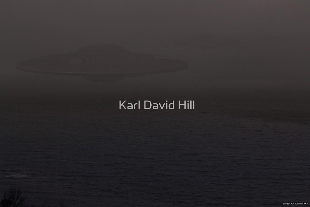 Motherships by Karl David Hill
