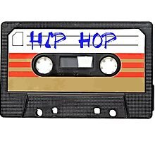 Hip Hop RAP  Music Cassette tape Photographic Print