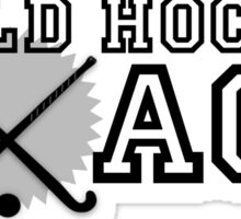 Field Hockey Coach Sticker