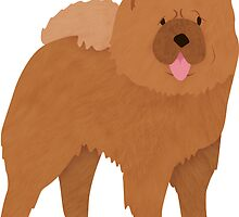 Chow Chow by Claire Stamper