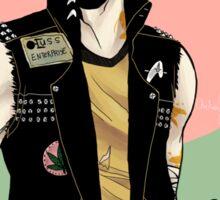 Punk!Sulu Green Sticker