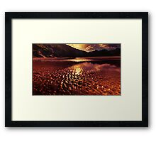 """Metalic Glow"" Framed Print"