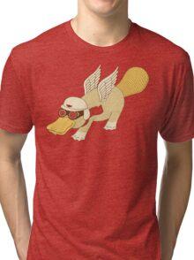 Platasus the Aviator Tri-blend T-Shirt