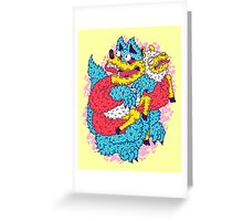 Deceive To Receive  Greeting Card