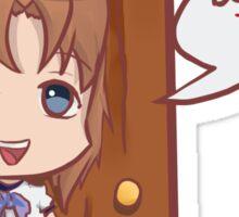 Higurashi no naku koro ni - Ryuugu Rena  Don't Touch! Sticker