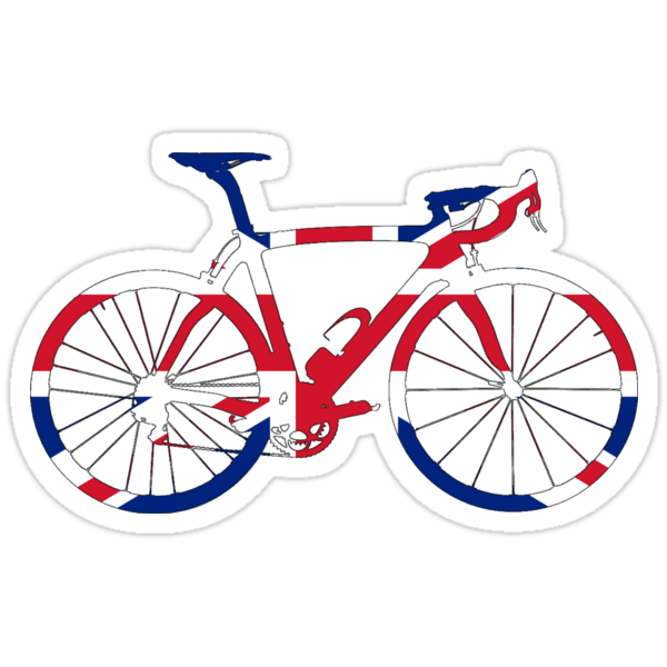 Bike Flag United Kingdom (Big) by sher00