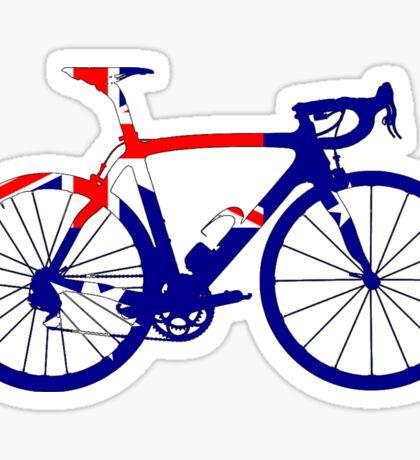 Bike Flag Australia (Big) Sticker