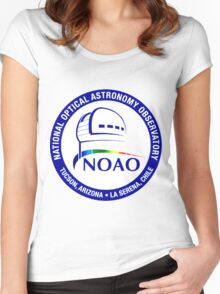 National Optical Astronomy Observatory (NOAO) Logo Women's Fitted Scoop T-Shirt