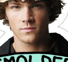 Smoldering Moose Sticker