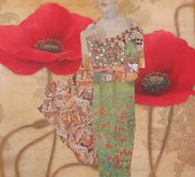 Poppies by Kanchan Mahon