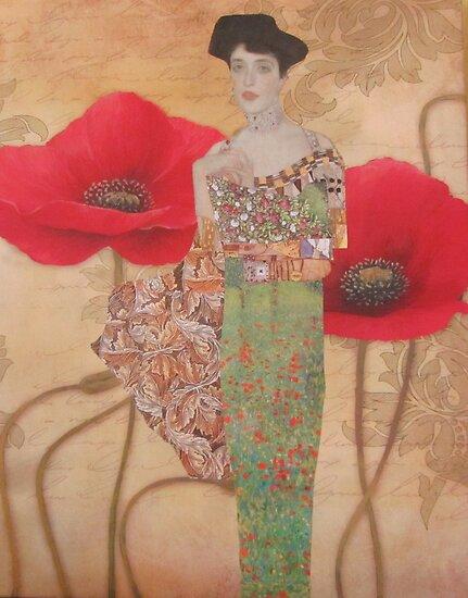 Poppies by Kanchan Mahon