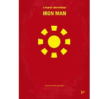 No113 My Iron man minimal movie poster Photographic Print