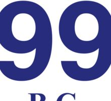 British Columbia 99 - Whistler Sticker