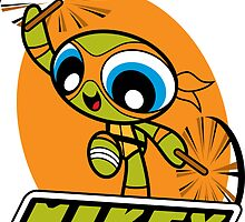 Powerpuff Mikey by DJKopet