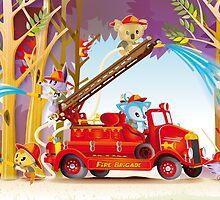 Fire Fighters by BunyipTree