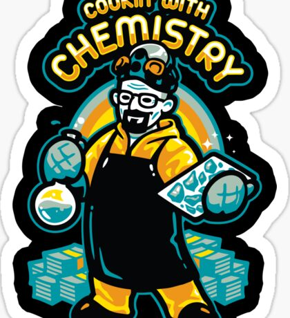 Cooking With Chemistry - STICKER Sticker