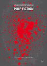 No067 My Pulp Fiction minimal movie poster by Chungkong