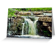 Wain Wath Force Greeting Card
