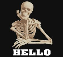 Skeleton says hello by nadil