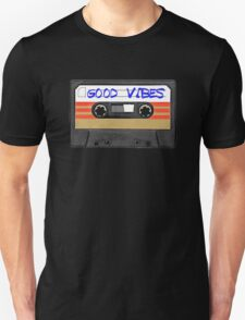 Funny music tape cassette - Good Vibes  T-Shirt