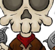 Skull Bandit Sticker