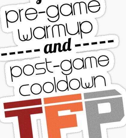 PreGame/PostGame TFP Sticker - Joseph Bongiovanni Sticker