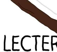 Lecter Detector Sticker