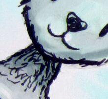 Meow Watercolor sticker Sticker