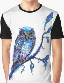 Owl, The Wisdom Keeper Graphic T-Shirt