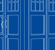 TARDIS Blue Sticker