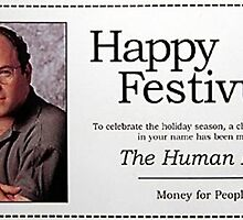 George Costanza - Happy Festivus by Jason Arnold