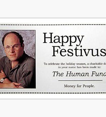 George Costanza - Happy Festivus Sticker