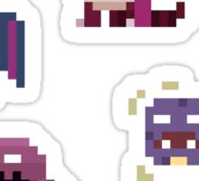 Mini Pixel Kanto Poison Types - Set of 9 Sticker