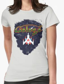 Galaga Womens Fitted T-Shirt
