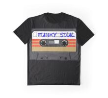 Cool Funky Soul MUSIC - Cassette Tape Graphic T-Shirt