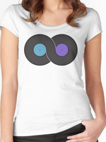 Infinite Music Women's Fitted Scoop T-Shirt