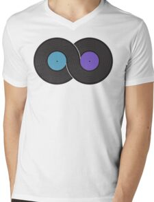 Infinite Music Mens V-Neck T-Shirt