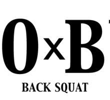 Back Squat - 1.0 x BW Sticker