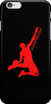 D.Rose Limitless iPhone case by Viral5