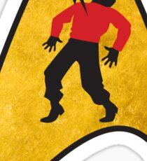 He's Dead, Jim - Sticker Sticker