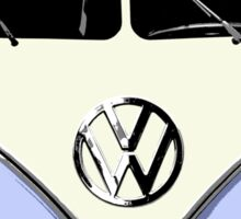VW Camper Sticker